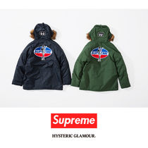 SUPREME17AW HYSTERIC GLAMOUR N-3B Parka コラボ
