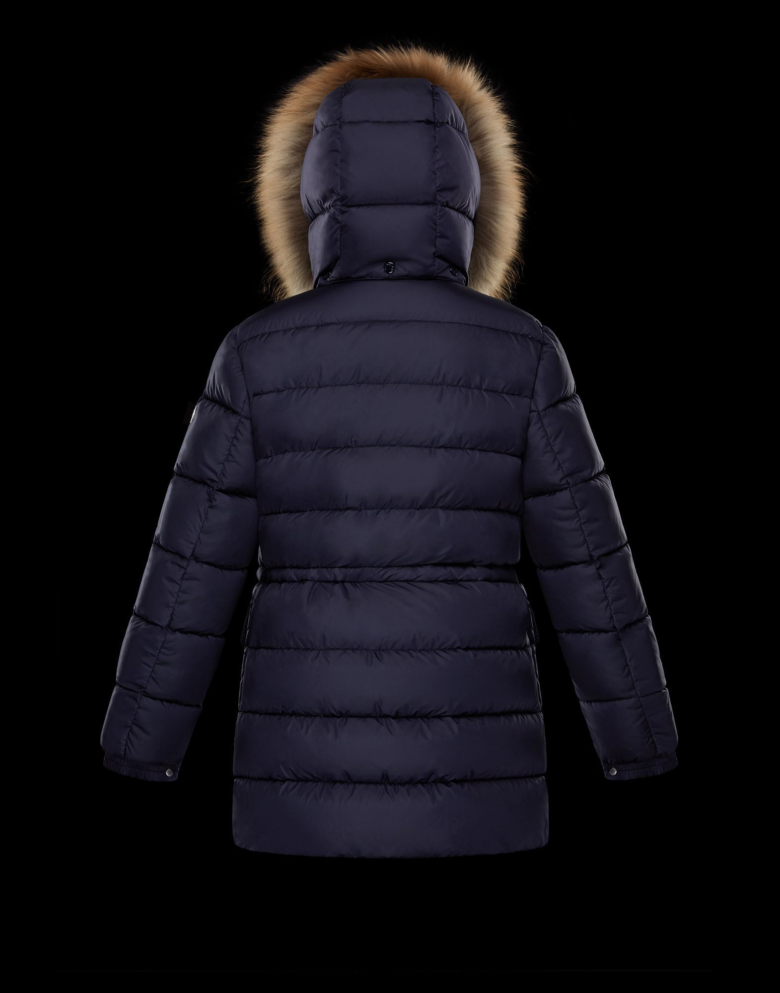 MONCLER2017/18新作ジュニアファー/フード付ダウンCLUNY 12A/14A