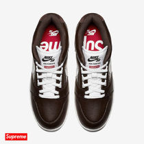 送料込 即配可 Supreme x Nike Air Force 2 Brown (10.0)