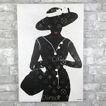 Oliver Gal 大きい 61x91cm Silhouette of a Lady キャンバス