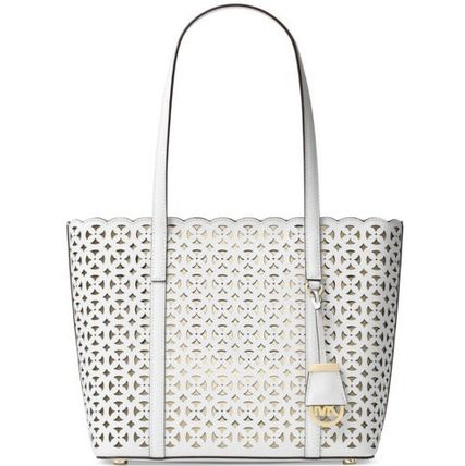 送料込・関税負担☆DESI SMALL PERFORATED LEATHER TOTE
