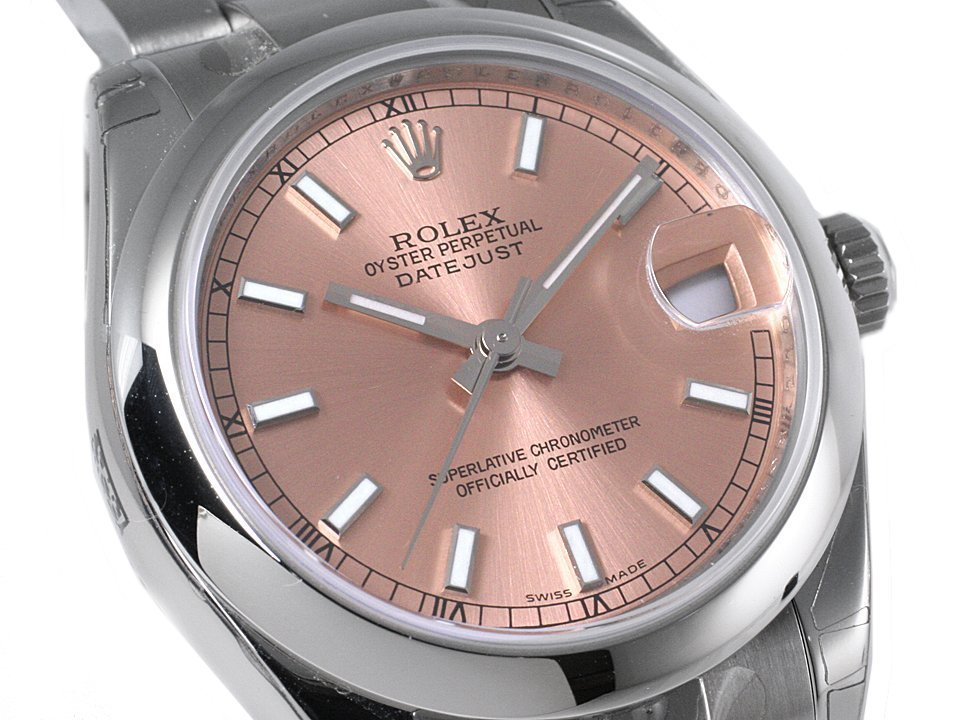 ROLEX(ロレックス) Datejust 31mm Pink Dial Automatic Ladies