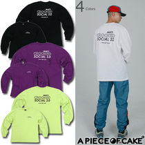 A PIECE OF CAKE(ピースオブケイク) Tシャツ・カットソー [A PIECE OF CAKE]★韓国人気! ACS3.0 Longsleeved T-shirts