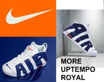 ナイキ★NIKE★AIR MAX MORE UPTEMPO 96♪ NICKS ロイヤルブルー