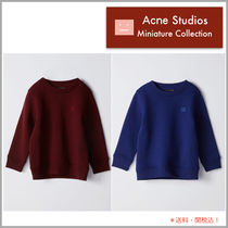 Acne Mini☆ Fairview Face フェイスパッチ スウェット 青&赤