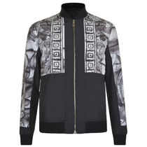 Versace Collection★バロック プリント ジャケットBlack/White