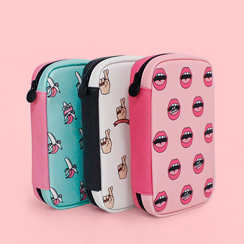 ★Marianne kate★韓国直送料込★Style digital pouch(wh)