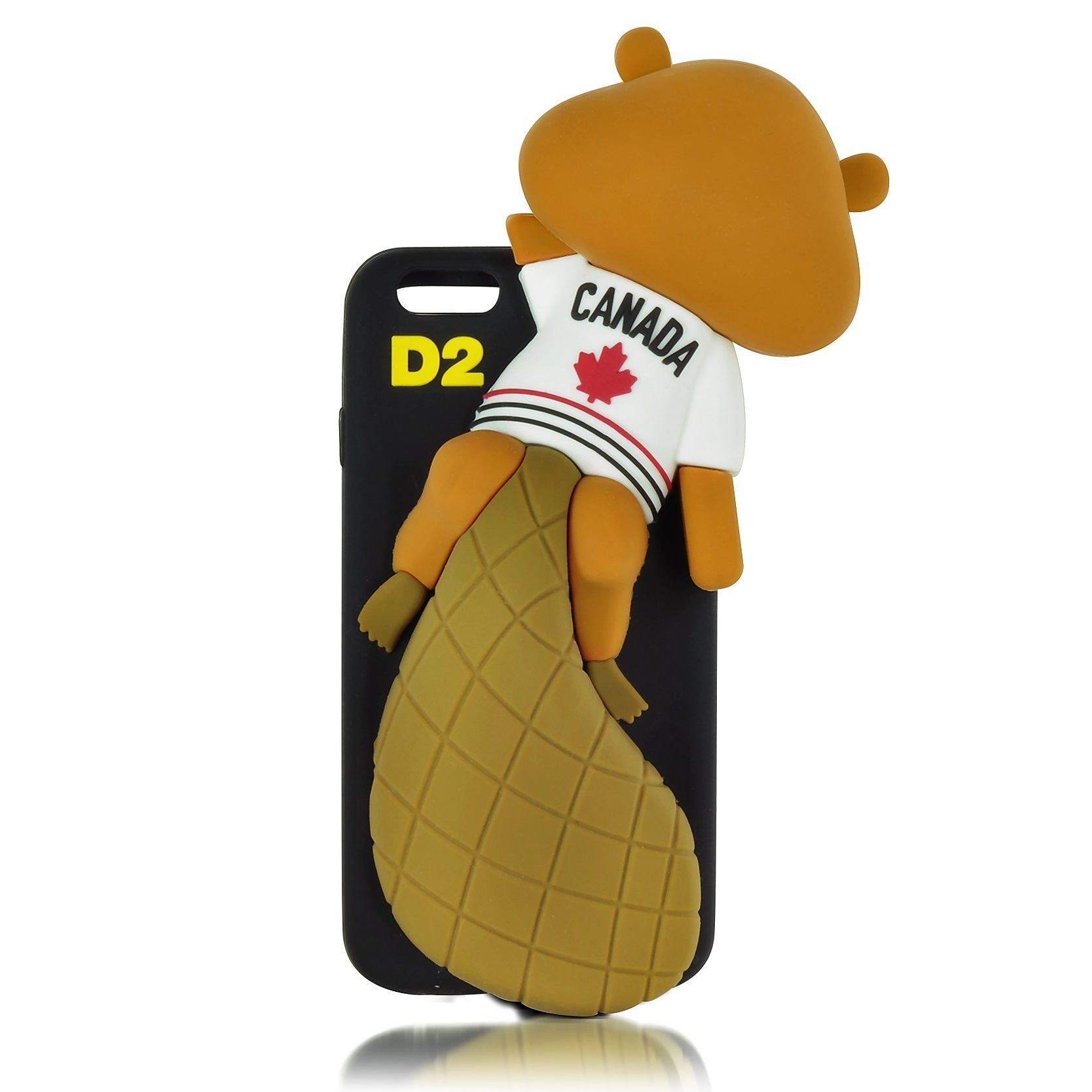 ★D SQUARED2★ Black Silicone Squirrel iPhone6ケース 関税込