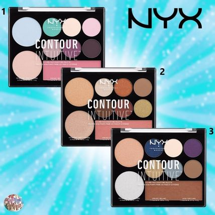 NYX☆CONTOUR INTUITIVE eye and face sculpting palette