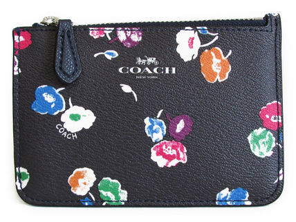 COACH Wildflower Key Pouch With Gusset F65444