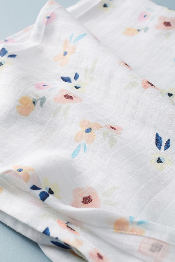 17SS☆最安値*関税送料込【Anthro】Picturesque Florals Swaddle