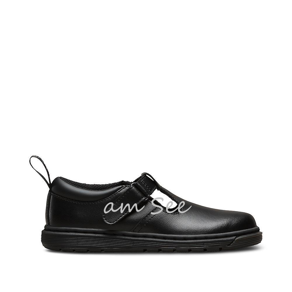 【Dr.Martens】大人もOK♪ RYAN JUNIOR BLACK T LAMPER 20-22cm