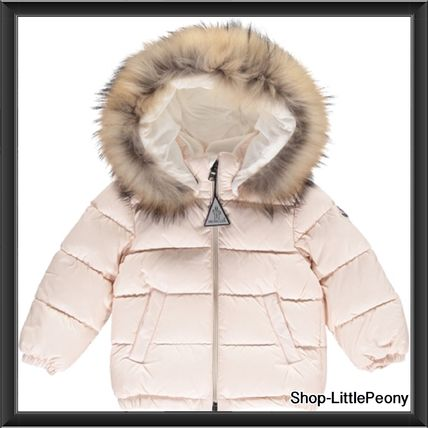 """2017-18 AW Moncler """"BULGARE""""ペールピンク"""
