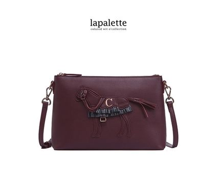 EMS発送Cupcake by lapalette ORIGINAL HORSE CROSSBODY BAG