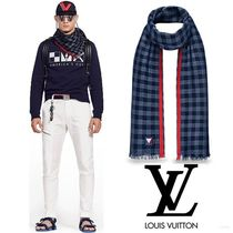 Louis Vuitton☆ルイヴィトン☆エトール・ダミエ  ストール