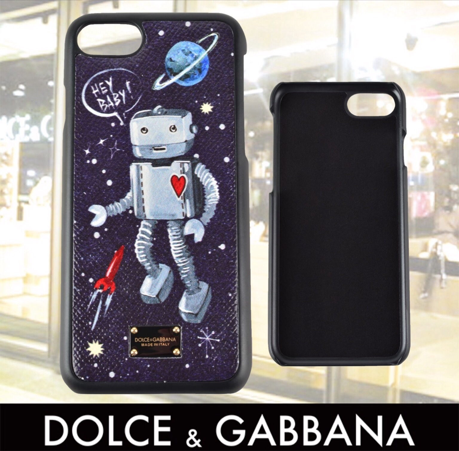DOLCE AND GABBANA ROCKET IPHONE 7 CASE 関税送料込み