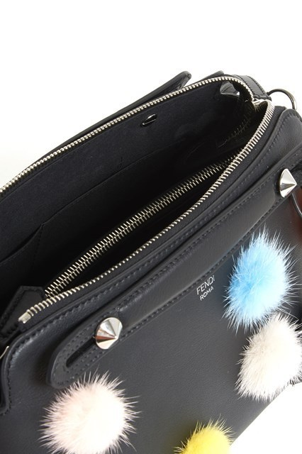 【FENDI】BY THE WAY HAND BAG POM POM MULTICOLOR IN THE FRONT