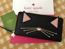 Kate Spade☆Neda Jazz Things Up☆キュートな猫の長財布