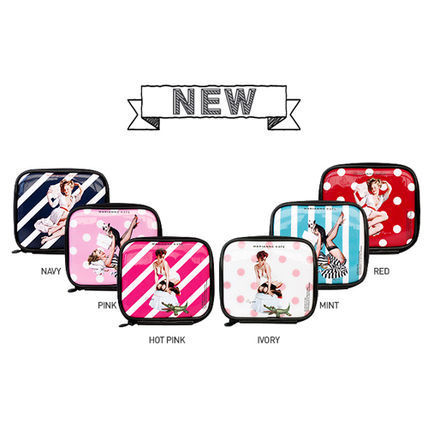 ★Marianne kate★Hello Ladies Multi Pouch (M)pink