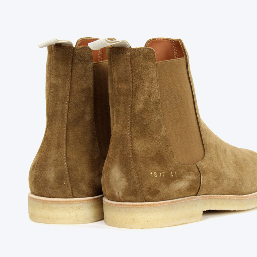 COMMON PROJECTS CHELSEA BOOTS SUEDE 2105 コモンプロジェクト