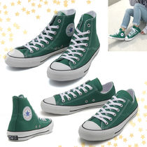 国内発★Converse ALL STAR 100 COLORS HI/OX グリーン