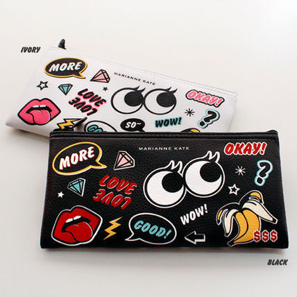 ★Marianne kate★Style eye pencil pouch(bk)