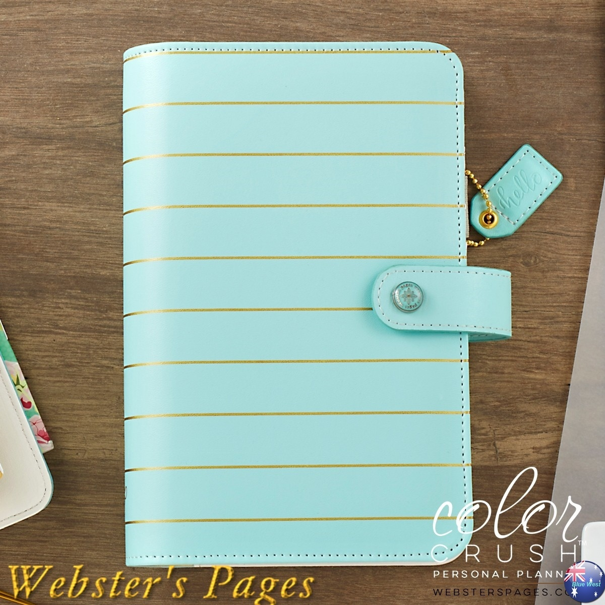 ◇Webster's Pages◇Color Crush Planner/ブルーゴールド/M