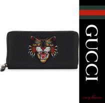 【国内発送】GUCCI 長財布 D'Orient grained leather wallet