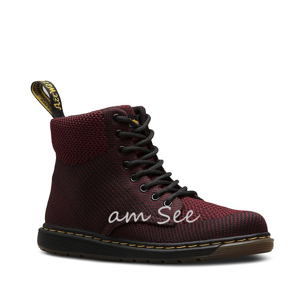 【Dr.Martens】大人もOK♪ JUNIOR MALKY KNITブーツ 2色 17-22cm