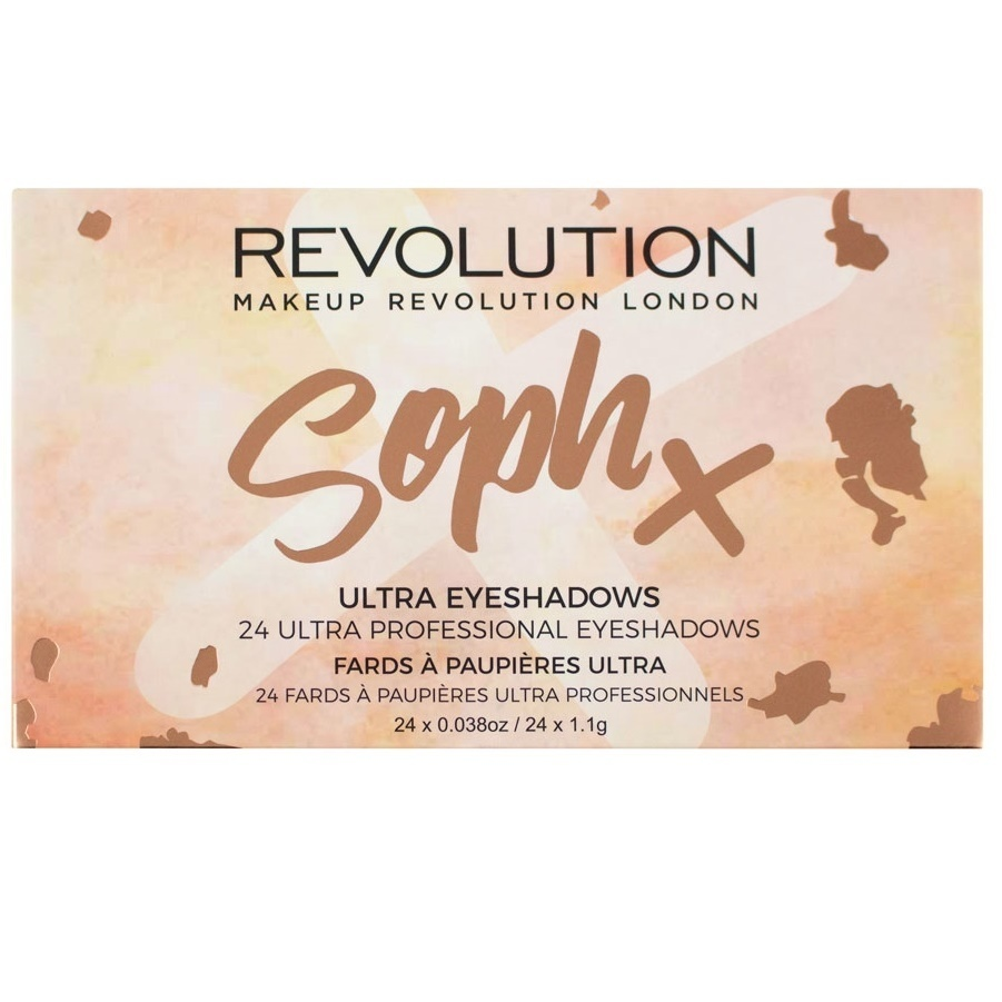 MAKEUP REVOLUTION☆Soph Eyeshadow Palette!24カラー入り