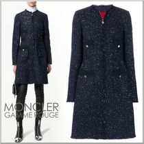 17-18AW★MONCLER GAMME ROUGE スパンコール コート MORAINE
