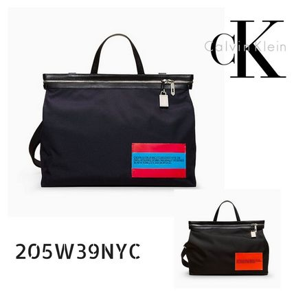 205W39NYC ★送料込★Calvin Klein BY RAF SIMONSナイロンTote M