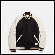【Coach】スタジャン★Wool leather varsity Jacket F20995