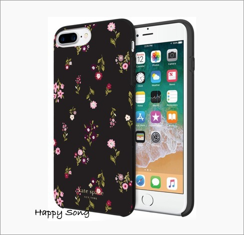 kate spade◆iPhone 6Plus/7Plus/8Plus◆可愛いフローラル柄