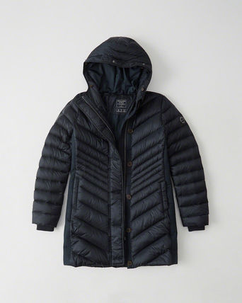Abercrombie & Fitch Puffer-Meets-Parka