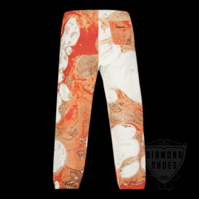 FW17 SUPREME BLOOD AND SEMEN SWEATPANT WHITE 白 S-XL送料無料