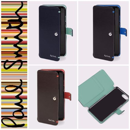 【Paul Smith】カラーコンビパルメラート iPhone 6/6s/7CASE 3色