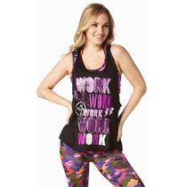 ☆ZUMBA・ズンバ☆Work Work Work Loose Tanks PL