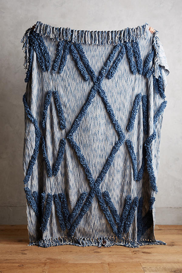 国内発関税込【Anthropologie】 Aldalora Throw Blanket