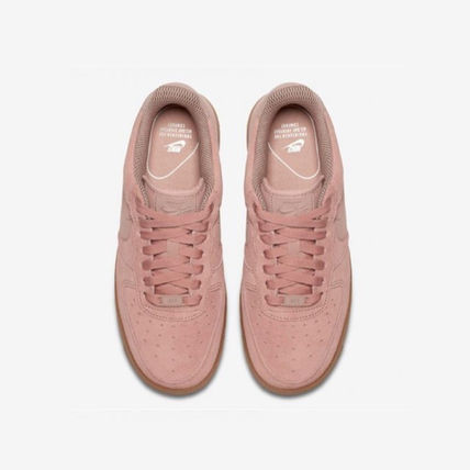 Nike スニーカー NIKE★WMNS AIR FORCE 1 '07 SE★スウェード★PARTICLE PINK(2)