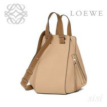 LOEWE★ロエベ Hammock Small Bag Sand/Mink Colour