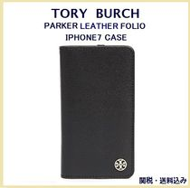 TORY BURCH PARKER LEATHER FOLIO  iPhone7ケース