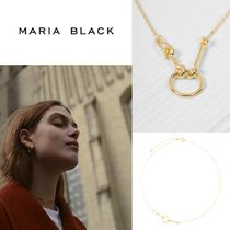 ∴Maria Black∵Knight necklace Gold