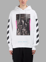 SS17 Off-White オフホワイト CARAVAGGIO HOODIE パーカー