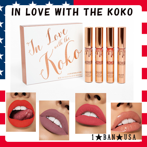 KYLIE COSMETICS★IN LOVE WITH THE KOKO♡リップ4色入り
