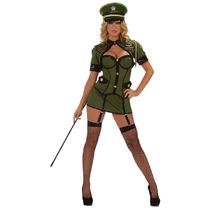 STARLINE S1016 ARMY GENERAL MILITARY COSTUME OLIVE GREEN