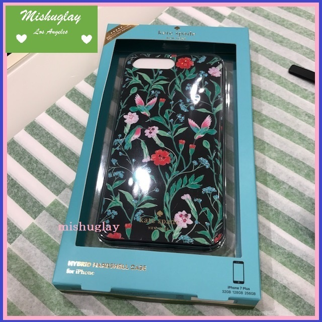 【kate spade】SALE★jeweled jardin  iPhone7/8 Plus case★