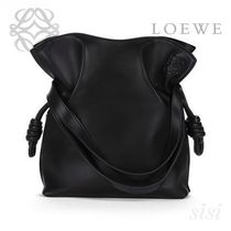 LOEWE★ロエベ Flamenco Knot Small Bag Black