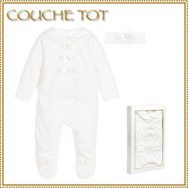 Couche Tot(クシェット) ベビーロンパース・カバーオール クシェット★カバーオール&ヘッドバンド 2点セット 55-70cm