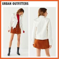 URBAN OUTFITTERS パテントレザー モトジャケット